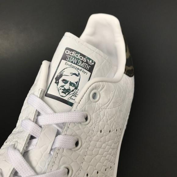 size 40 8cb29 2847e Adidas Originals Stan Smith Croc Camo Men Size 13 NWT